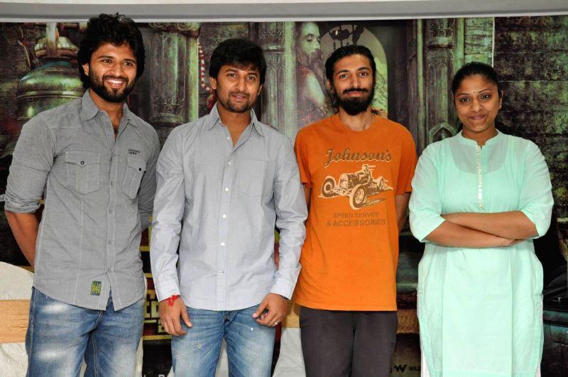 Nani acted telugu movie Yevade Subramanyam Press meet held in Hyderabad on 27th Feb, 2015
