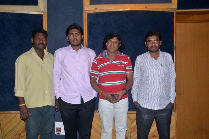 Nayananmdam Creations songs recording launched at Sana Yadi Reddy recording studios, on Dec 23, 2014.. - Yadi Reddy