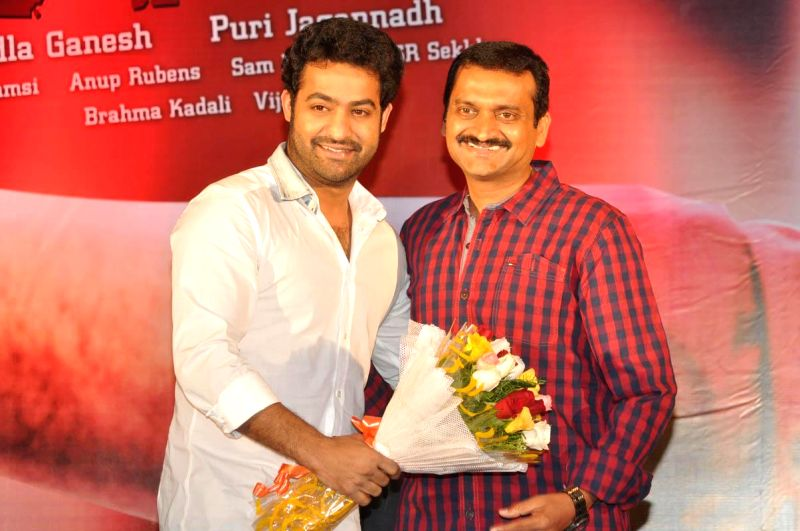 NTR acted Temper Success meet held in Hyderabad.