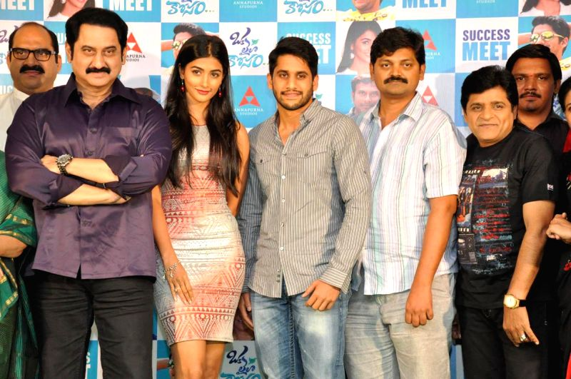 oka laila kosam success meet photoscape