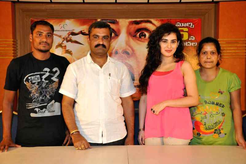 Panchami Press meet held in Hyderabad, on March 3, 2015.