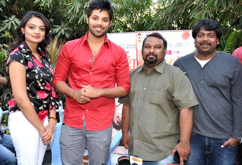 pesarattu movie press meet saritha