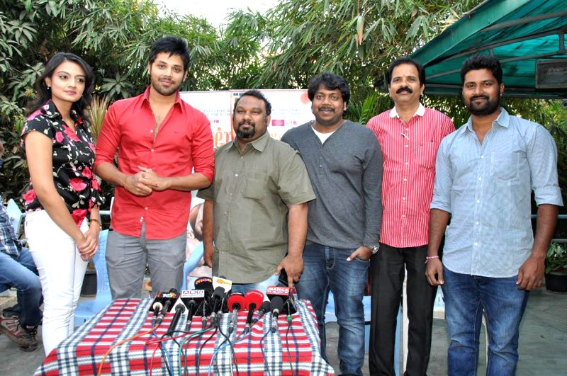 Pesarattu Press meet held in Hyderabad`.