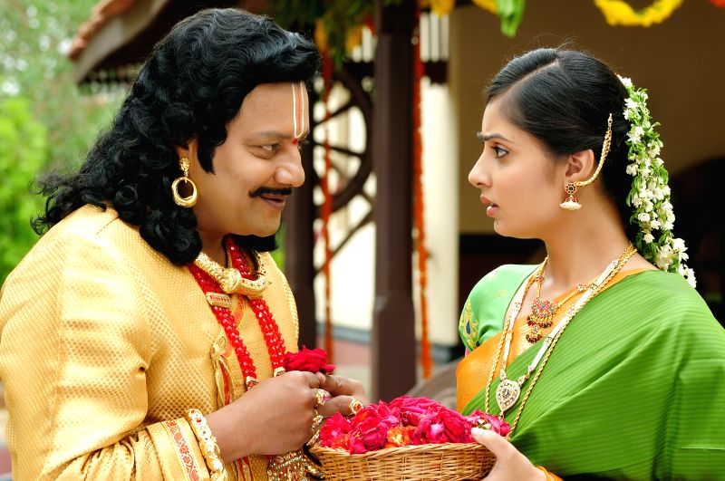 Photos from Telugu film `Chilkur Balaji`.