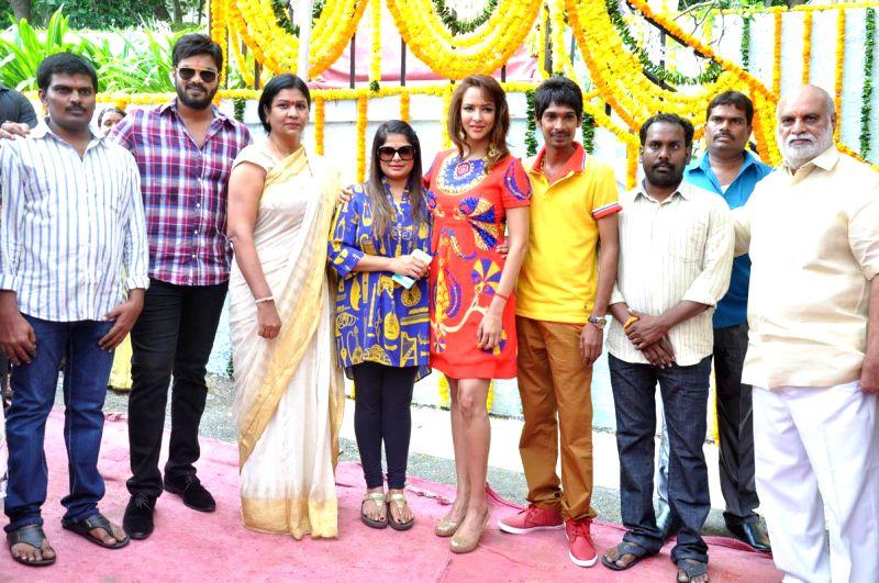 Pilavani Perantam opening held at Ramanaidu Studios in Hyderabad on Nov 18, 2014.