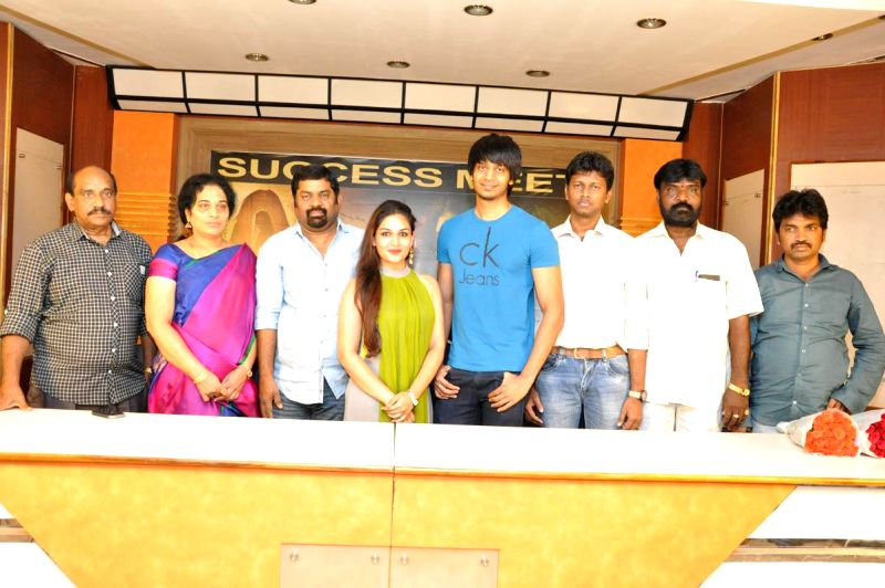 Pishachi Success meet held in Hyderabad on Feb 28, 2015..