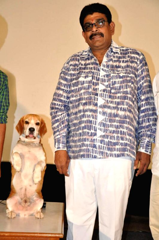 Press meet from upcoming Telugu film `Tommy movie`.