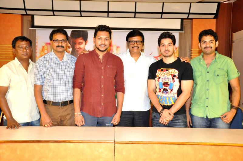 Press meet of film Gayakudu
