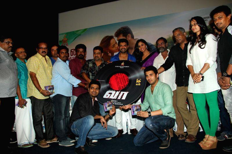 Press meet of film `Vaa`.