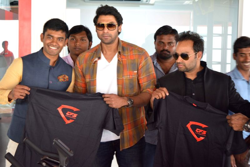 Producer Rana Daggupati at Core Fitness Station Launching situated at  Hotel Daspalla Hotel in Hyderabad.