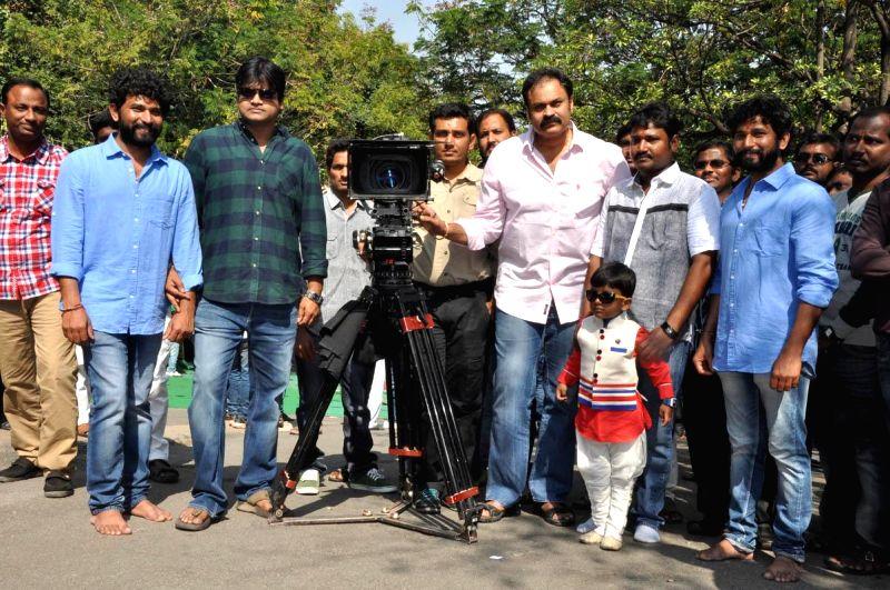 Racha Rambola Opening held in Hyderabad, on Dec 6, 2014.