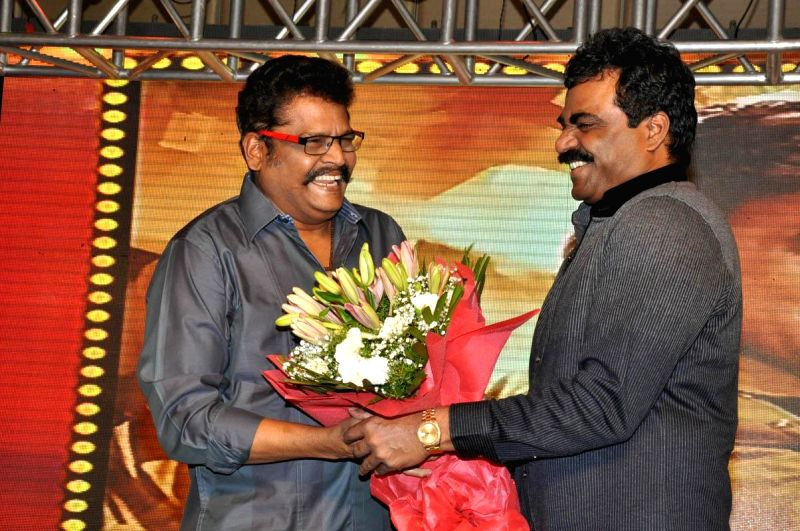 Rajinikanth acted Lingaa audio success meet held in Hyderabad on Dec 8, 2014.