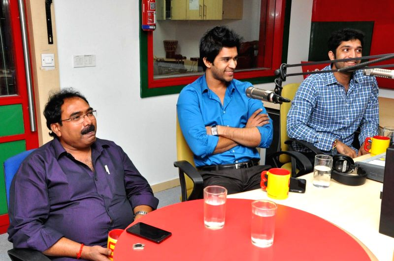 Ram Leela movie team visited Radio Mirchi.