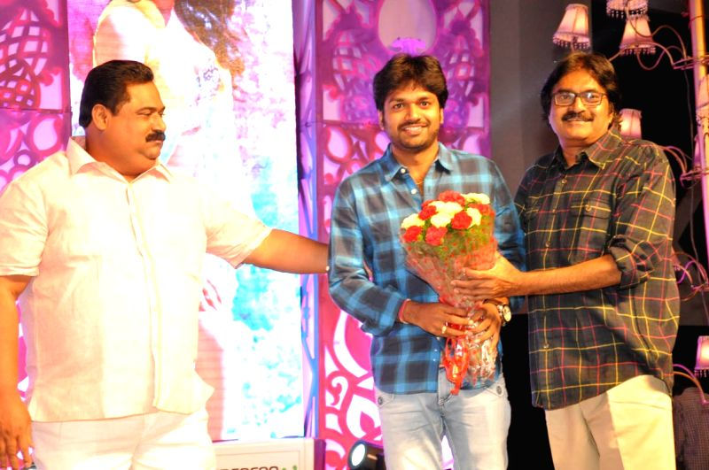 Ram Pothineni acted Pandaga Chesko audio launch function held at Hyderabad on 1st May 2015.