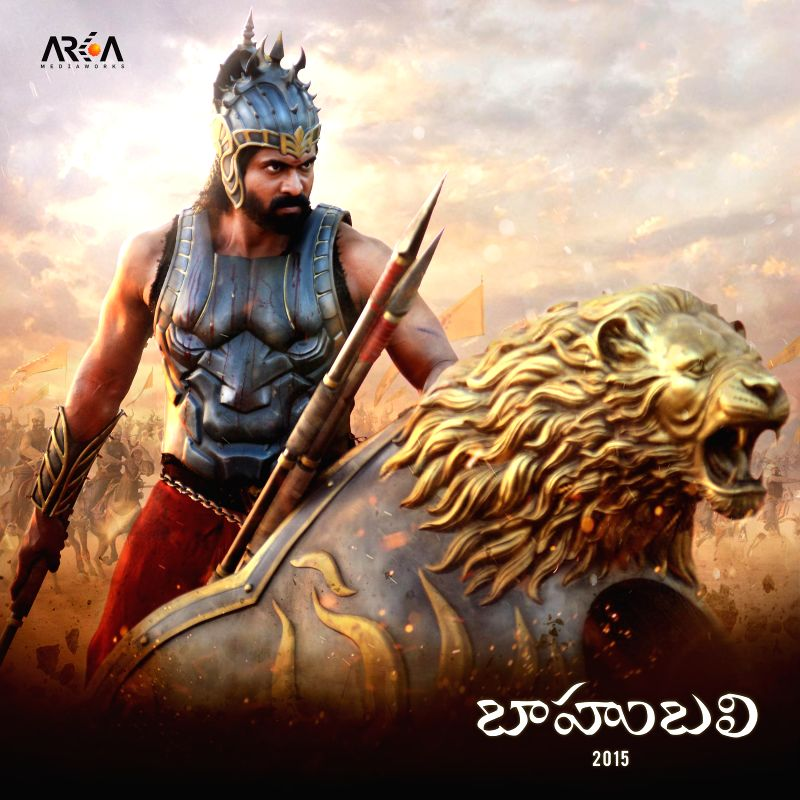 Rana Daggubati as Bhallaladeva in Baahubali.
