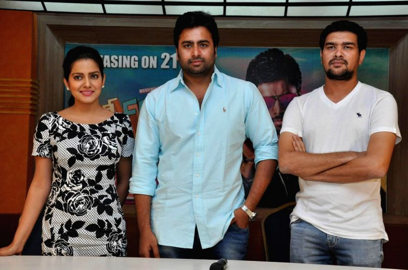 Rowdy Fellow releasing on this week in this connection producer arranged press meet in Hyderabad on Nov 18, 2014.