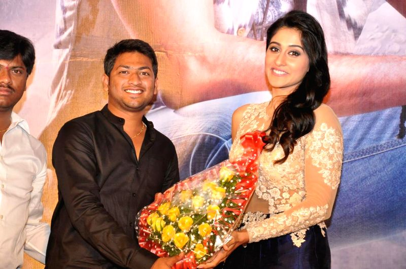 Sai Dharam Teja, Regina acted Pilla Nuvvuleni Jeevitam Success meet held at Novatel Hotel in Hyderabad on Nov 17, 2014.