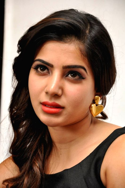 Samantha spoke to the press on her recent release S/o Satya Murthy at producer's officer today (13th April) morning.