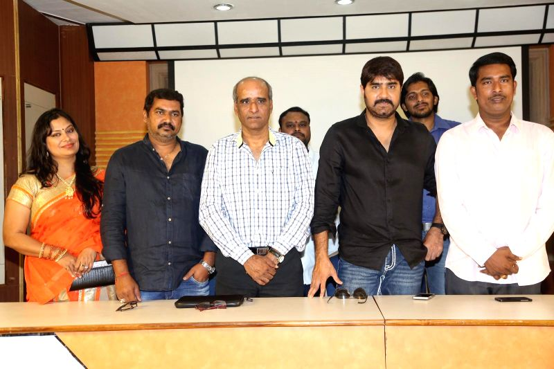 Srikanth acted Terror movie shooting completed in this connection producer arranged press meet in Hyderbaad.