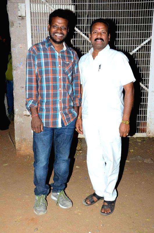 Stills from Telugu film `Aame Evaru`.
