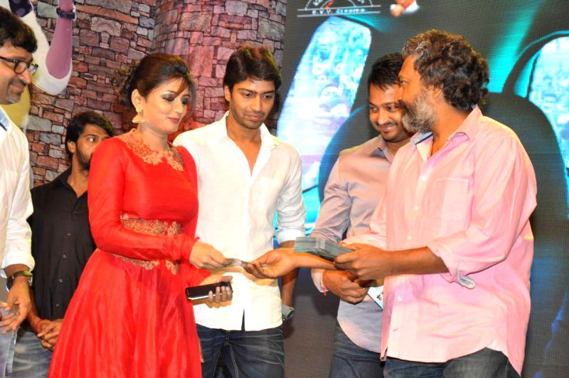 Stills from Telugu film audio launch`Bandipotu`.