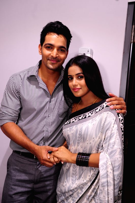 Stills from Telugu film `Avunu2`.