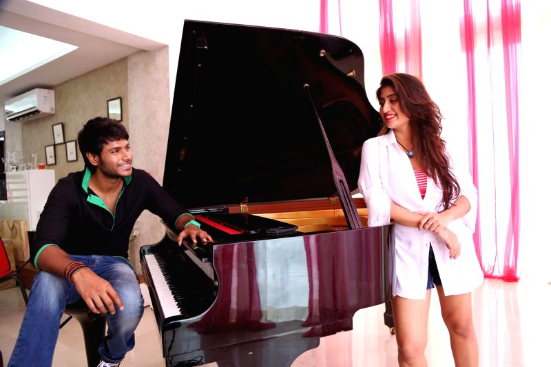 Stills from Telugu film `Beeruva`.