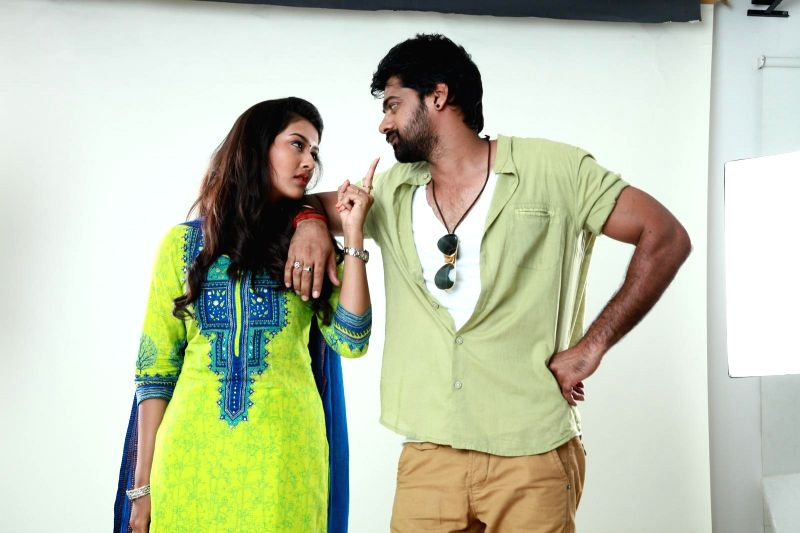 Stills from Telugu film `Bham Bholenath`.