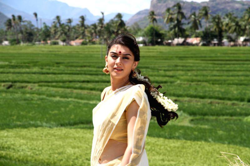Stills from telugu film `Chandra Kala`.
