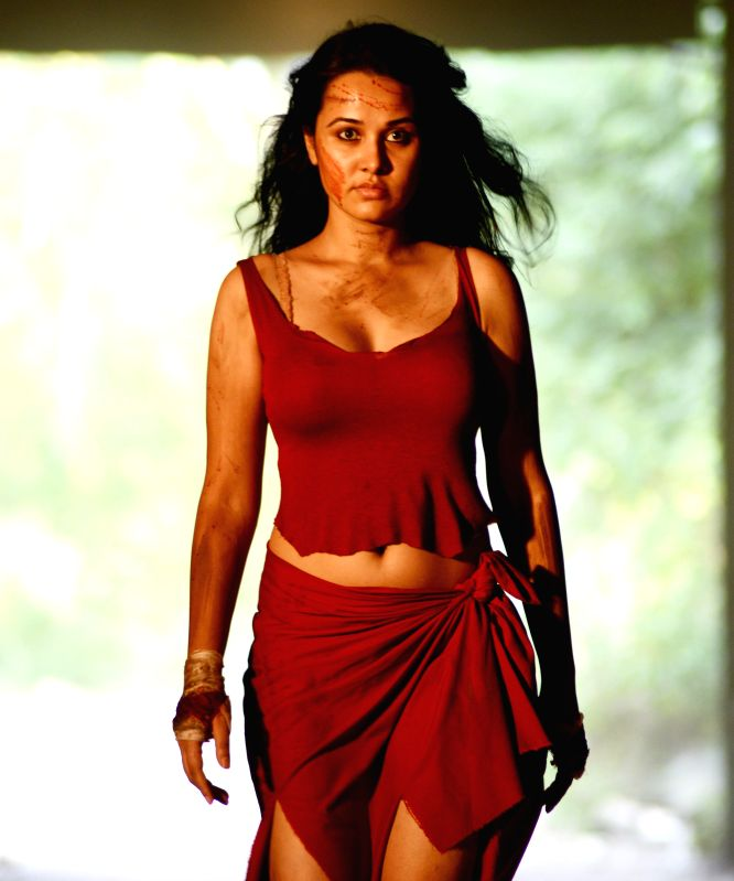 Stills from Telugu film `Criminals`.