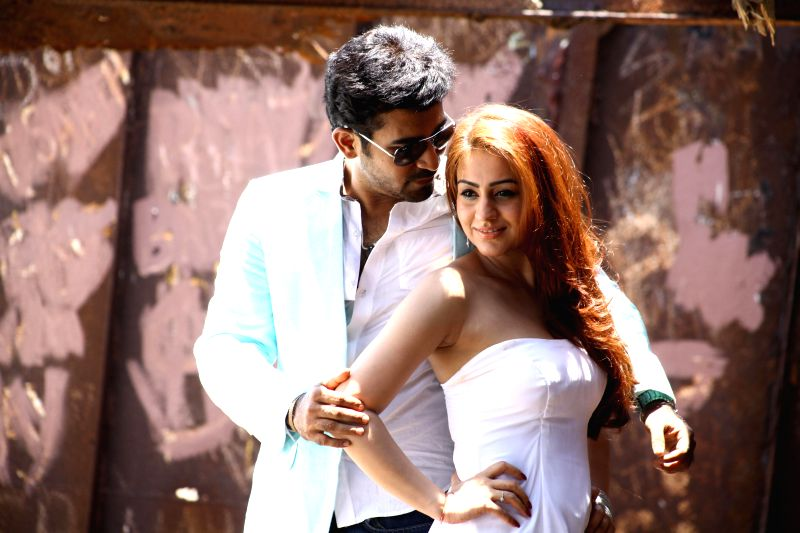 Stills from Telugu film `Dr. Saleem`.