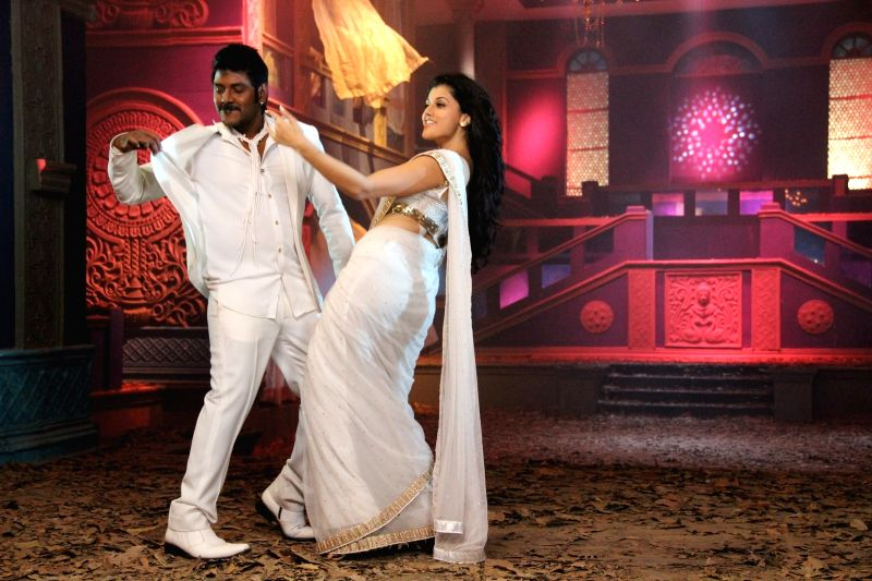 Stills from Telugu film `Ganga`.