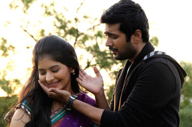 Stills from Telugu film `Hyderabad Love Story`.