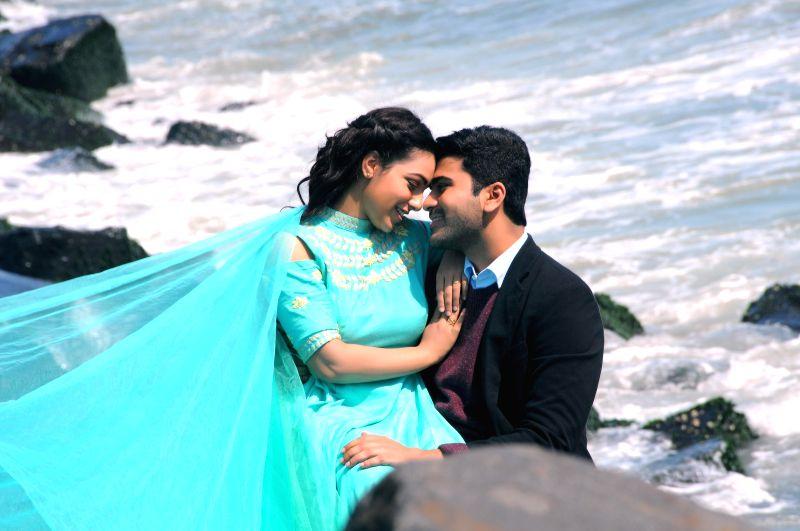 Stills from Telugu film `Malli malli idhi raani roju`.
