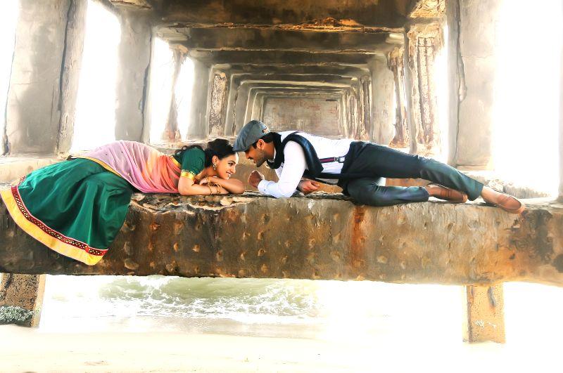 Stills from telugu film `Malli Malli Idi Rani Roju` .