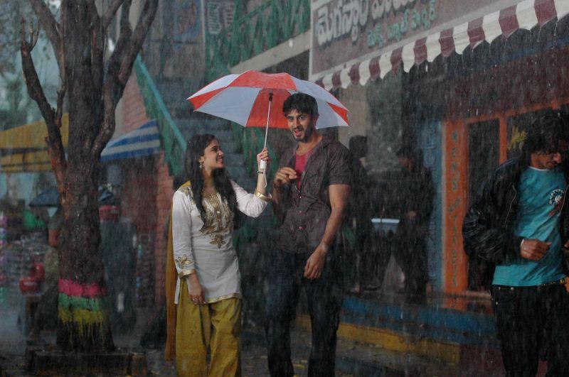 Stills from telugu film `Mana Kurralle` .