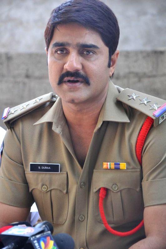 stills from Telugu film `Mental Police Press meet`.