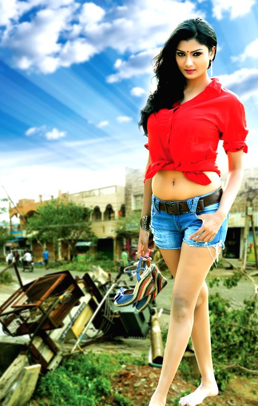 Stills from Telugu film `Miss Leelavathi`.