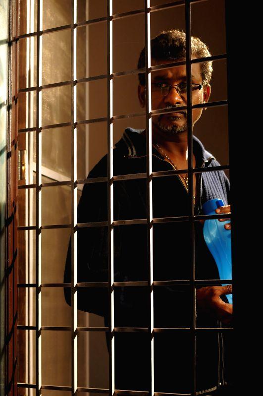 Stills from Telugu film `No End`.