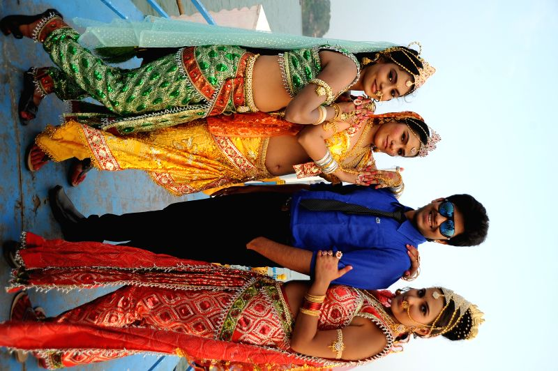 Stills from Telugu film `Ory Devudoy`.