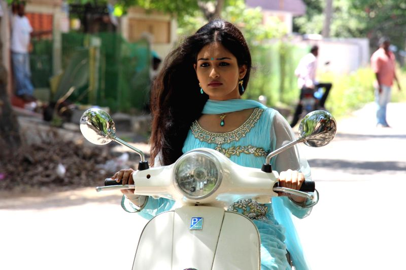 Stills from Telugu film `Pisachi`.
