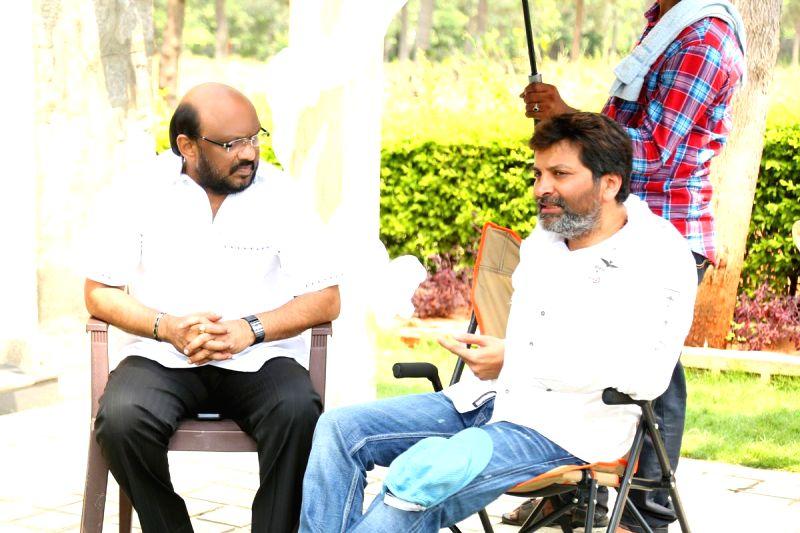 Stills from Telugu film `Son Of Satyamurthy`.