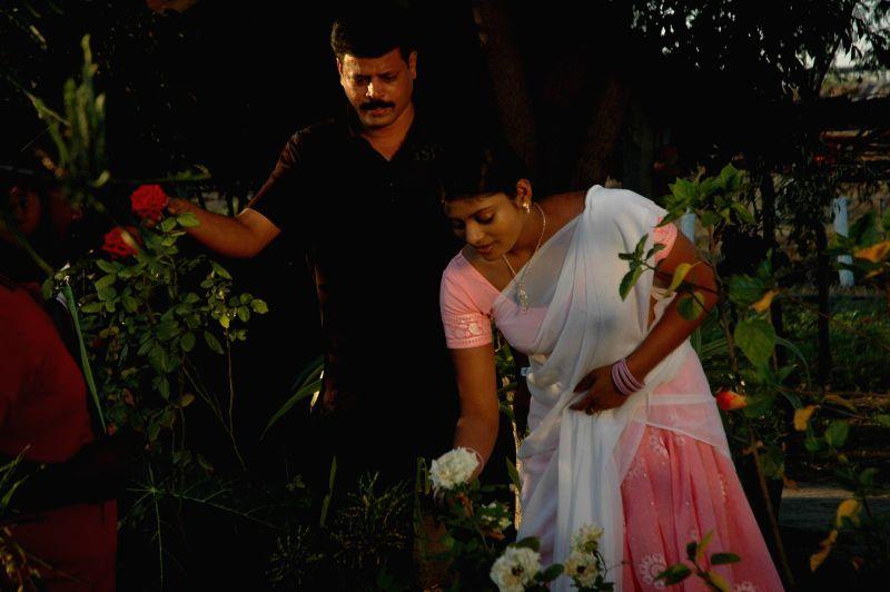 Stills from telugu film `Suri vs Varalakshmi`.