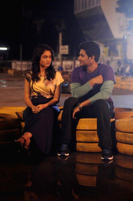 Stills from Telugu film `Surya v/s Surya`.