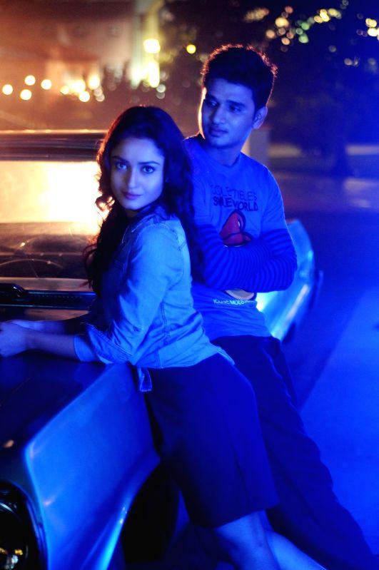 Stills from Telugu film `Surya vs Surya`.