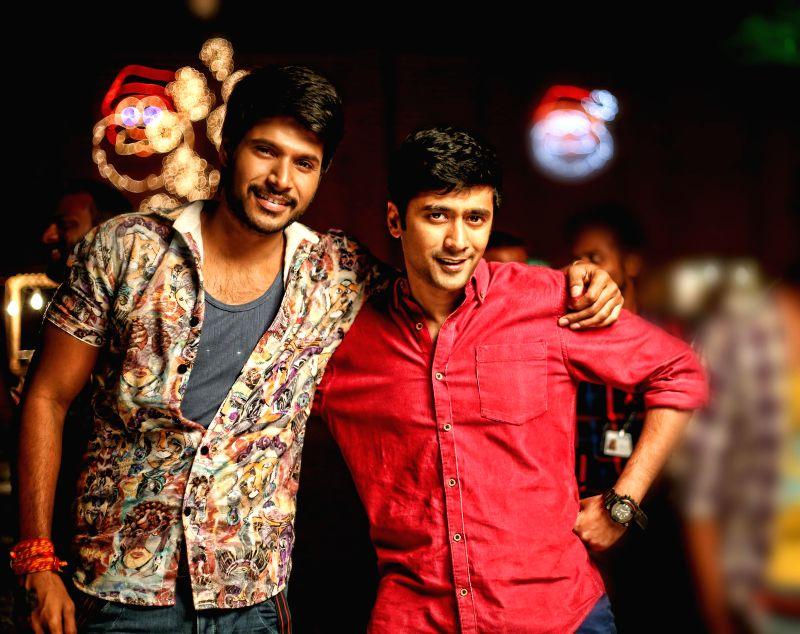 Stills from Telugu film `Tiger`.