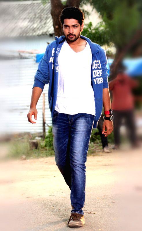 stills from Telugu film `Tippu`.