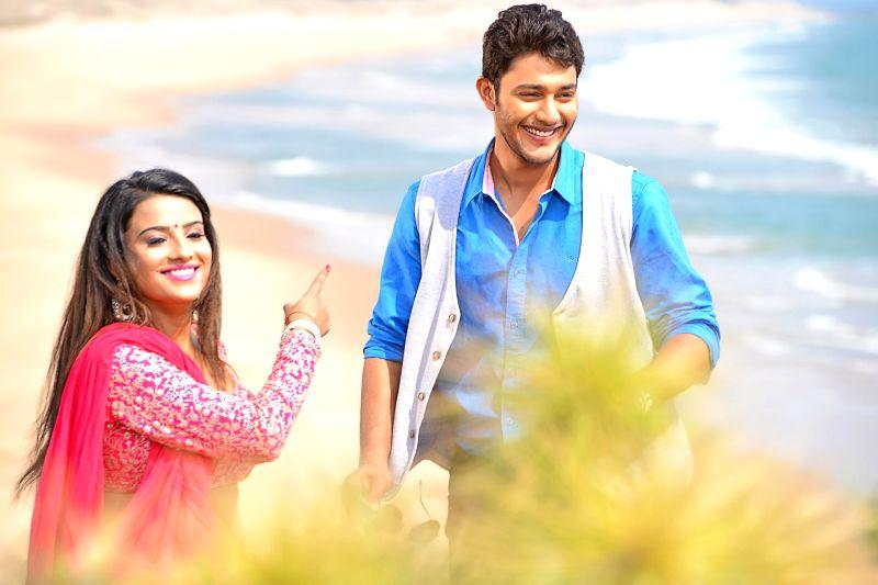 Stills from Telugu film `Where is Vidyabalan`.