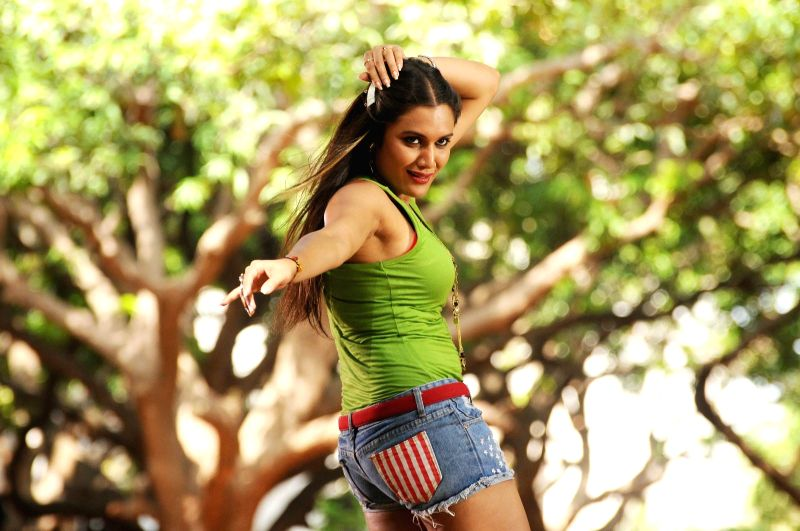 Stills from Telugu film `Yavvanm Oka Fantasy`.