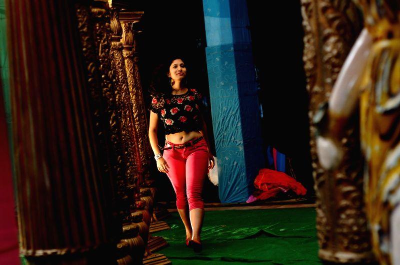 Stills from upcoming Telugu film `Geethopadesam`.